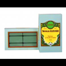 box of 6 olive oil soaps