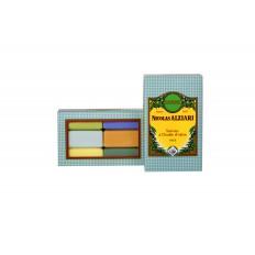 box of 6 olive oil soaps all fragrance 200 gr