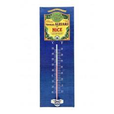 Vintage olive oil thermometer Nicolas Alziari Nice 8X25cm (metal)