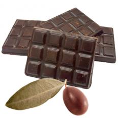 6 Mini tablettes de chocolat à l'huile d'olive de Nice (5%)
