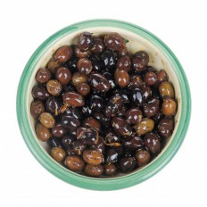 Olives : oil, orange's peel, Herbs of Provence 125 gr