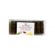 6 Mini Chocolate Bars with Olive Oil and Lemon