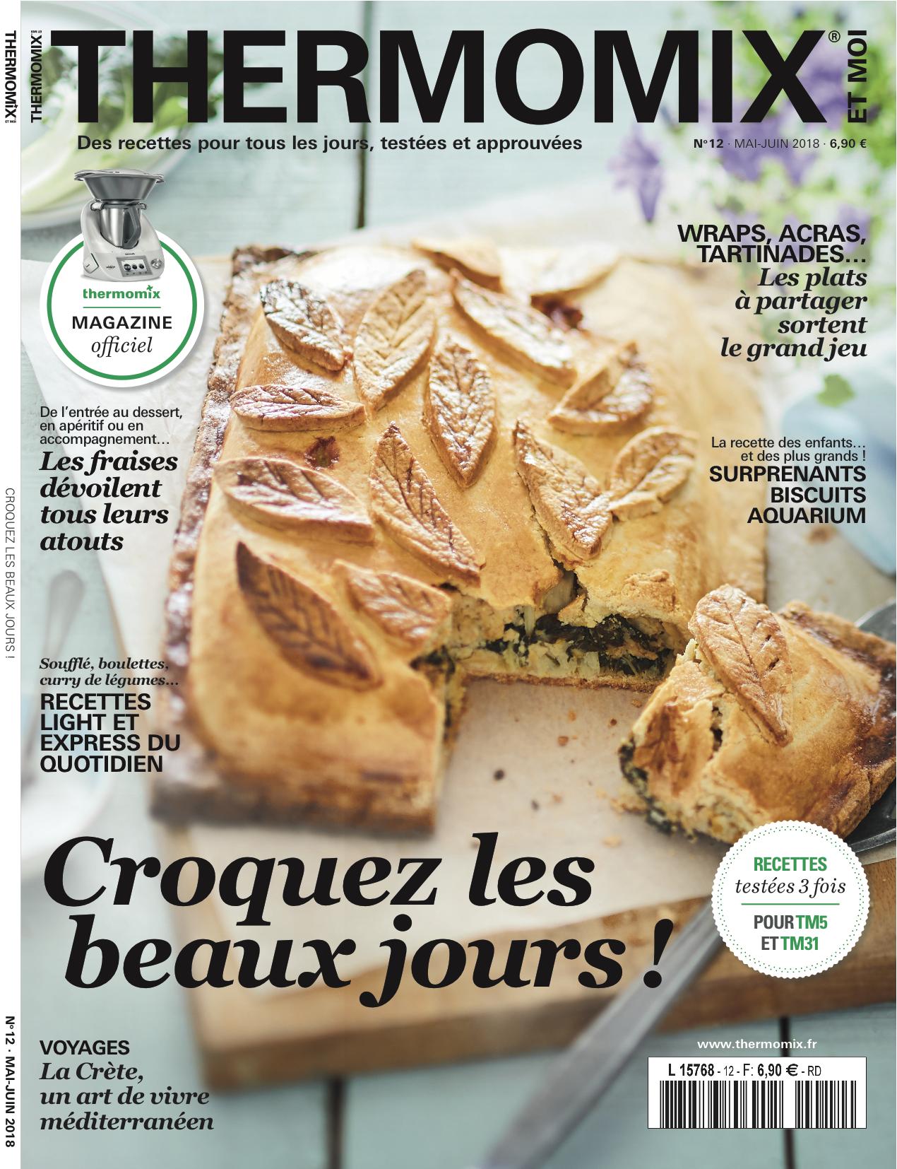 Thermomix Cuisiner Pour 6 Et Plus blog - parution thermomix