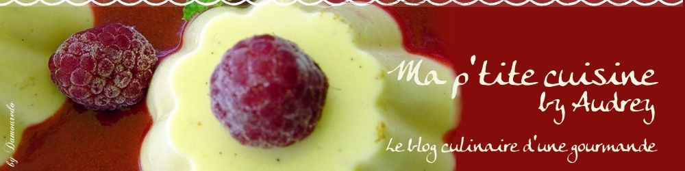 dessert vanille et framboise